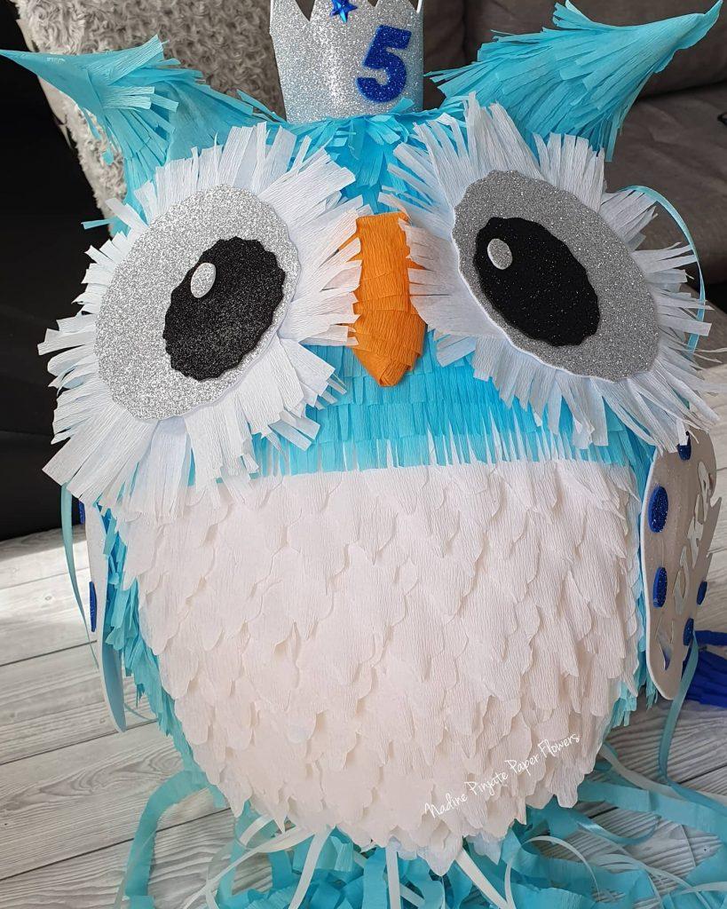 Pinjata Sovica - Owl - Nadine Pinjate