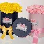 Box in flowers - Nadine Pinjate Paper Flowers