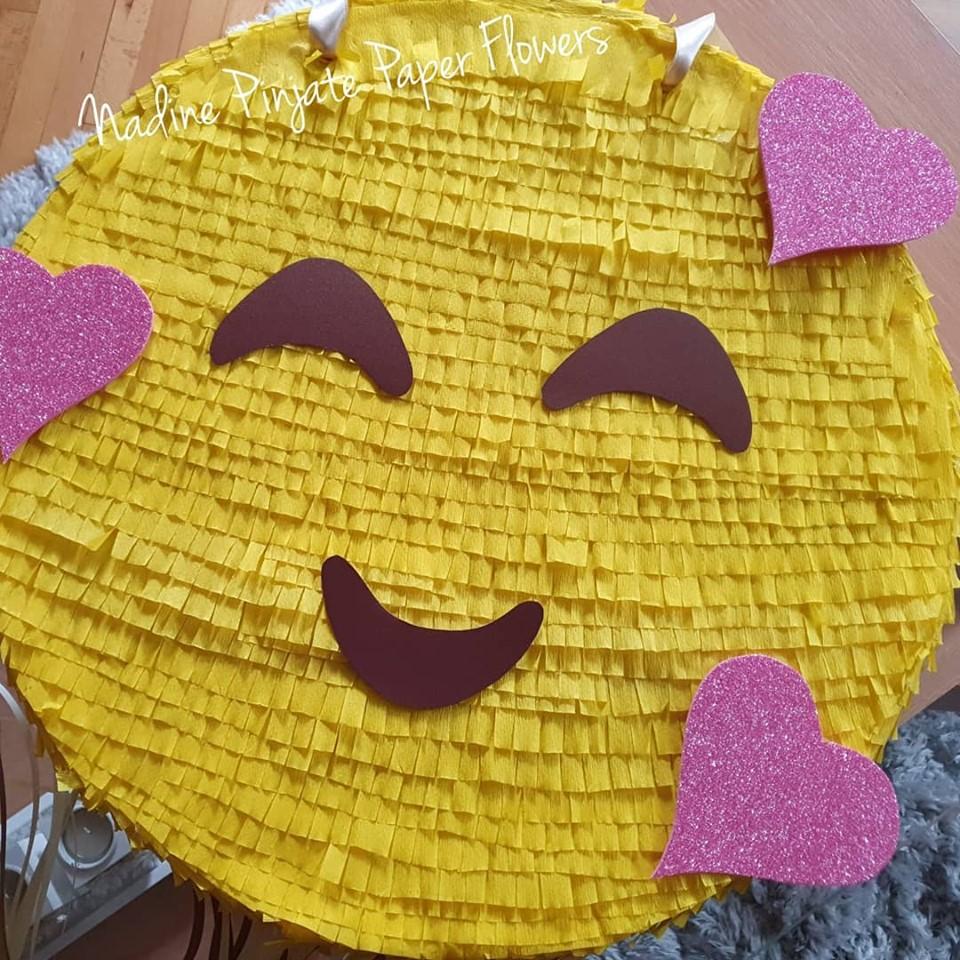 Pinjata Emotikoni Smile - Nadine Pinjate