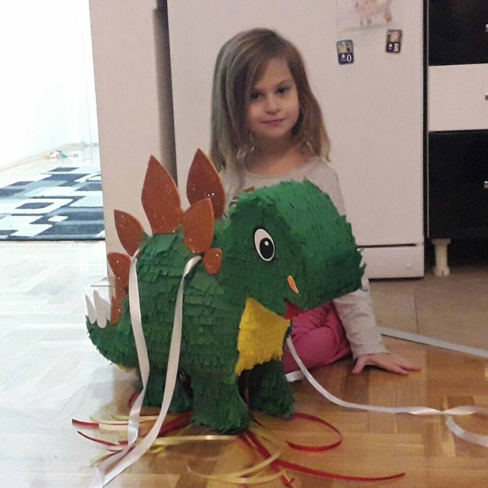 Baby Dinosaur - Nadine Pinjate
