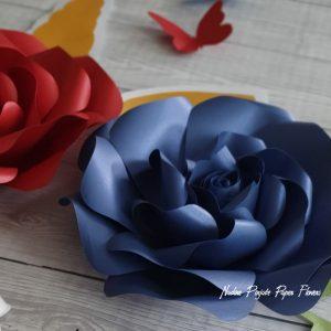 Dekoracija - Cvetni zid