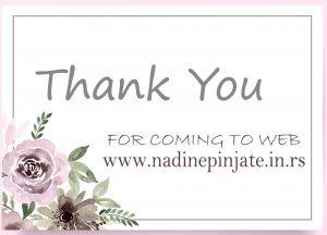 Online Prodavnica - Nadine Pinjate