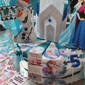 Torte od Kartona - Elsa Frozen